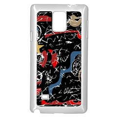 Confusion Samsung Galaxy Note 4 Case (White) by Valentinaart