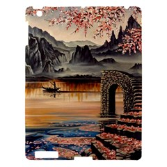 Japanese Lake Of Tranquility Apple Ipad 3/4 Hardshell Case by ArtByThree