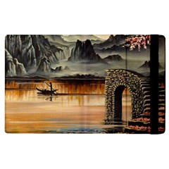 Japanese Lake Of Tranquility Apple Ipad 3/4 Flip Case by ArtByThree