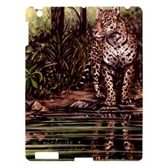 Jaguar In The Jungle Apple Ipad 3/4 Hardshell Case by ArtByThree
