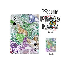 Zentangle Mix 1116c Playing Cards 54 (mini)  by MoreColorsinLife