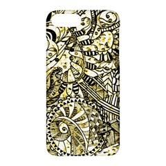 Zentangle Mix 1216a Apple iPhone 7 Plus Hardshell Case by MoreColorsinLife
