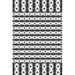 Pattern Background Texture Black 5.5  x 8.5  Notebooks