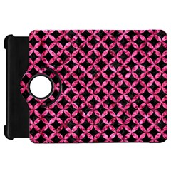 Circles3 Black Marble & Pink Marble Kindle Fire Hd Flip 360 Case by trendistuff