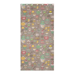 Tea Party Pattern Shower Curtain 36  X 72  (stall)  by Mishacat