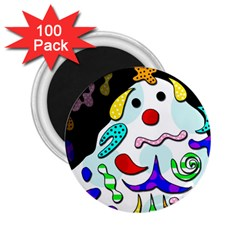 Candy man` 2.25  Magnets (100 pack)  by Valentinaart