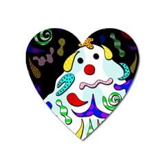 Candy Man` Heart Magnet by Valentinaart