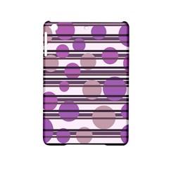 Purple Simple Pattern Ipad Mini 2 Hardshell Cases by Valentinaart