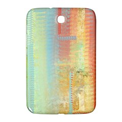 Unique abstract in green, blue, orange, gold Samsung Galaxy Note 8.0 N5100 Hardshell Case  by theunrulyartist