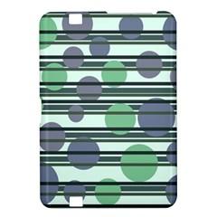 Green Simple Pattern Kindle Fire Hd 8 9  by Valentinaart