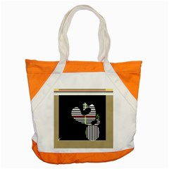 Abstract Art Accent Tote Bag by Valentinaart
