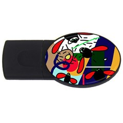Fly, Fly Usb Flash Drive Oval (4 Gb)  by Moma