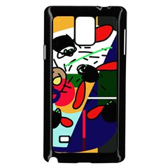 Fly, Fly Samsung Galaxy Note 4 Case (black) by Moma