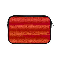 Writing Grace Apple Macbook Pro 13  Zipper Case by MRTACPANS
