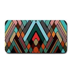 Abstract Mosaic Color Box Medium Bar Mats by AnjaniArt