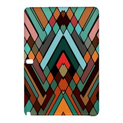 Abstract Mosaic Color Box Samsung Galaxy Tab Pro 12 2 Hardshell Case by AnjaniArt
