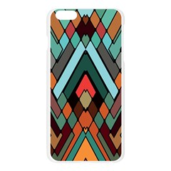 Abstract Mosaic Color Box Apple Seamless iPhone 6 Plus/6S Plus Case (Transparent) by AnjaniArt