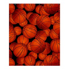 Basketball Sport Ball Champion All Star Shower Curtain 60  X 72  (medium)  by AnjaniArt