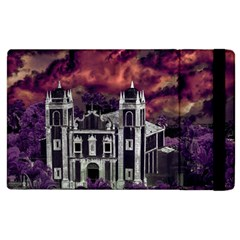 Fantasy Tropical Cityscape Aerial View Apple Ipad 3/4 Flip Case by dflcprints