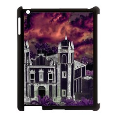 Fantasy Tropical Cityscape Aerial View Apple Ipad 3/4 Case (black) by dflcprints