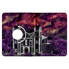 Fantasy Tropical Cityscape Aerial View Kindle Fire Hdx Flip 360 Case by dflcprints