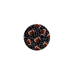 Football Player 1  Mini Buttons by AnjaniArt