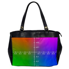 Formula Plane Rainbow Office Handbags by AnjaniArt
