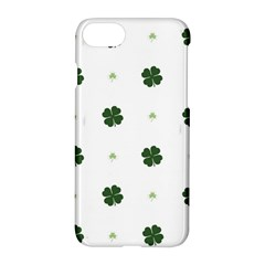 Green Leaf Apple Iphone 7 Hardshell Case by AnjaniArt