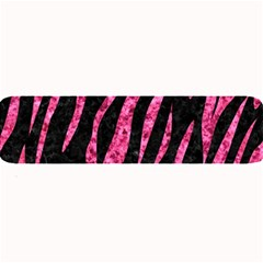 Skin3 Black Marble & Pink Marble Large Bar Mat by trendistuff