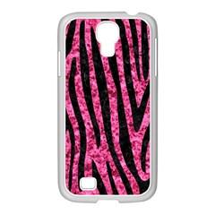 Skin4 Black Marble & Pink Marble Samsung Galaxy S4 I9500/ I9505 Case (white) by trendistuff