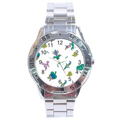 Leaf Stainless Steel Analogue Watch by AnjaniArt