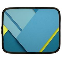 New Bok Blue Netbook Case (xl)  by AnjaniArt