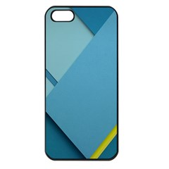 New Bok Blue Apple Iphone 5 Seamless Case (black) by AnjaniArt