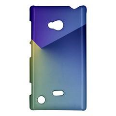 Purple Yellow Nokia Lumia 720