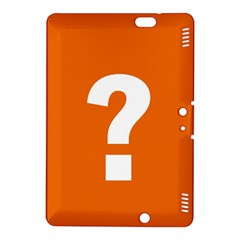 Question Mark Kindle Fire HDX 8.9  Hardshell Case