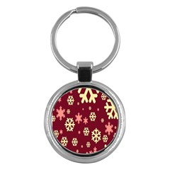 Red Resolution Version Key Chains (round)  by AnjaniArt