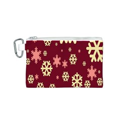 Red Resolution Version Canvas Cosmetic Bag (S)