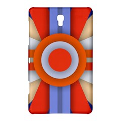 Round Color Copy Samsung Galaxy Tab S (8 4 ) Hardshell Case  by AnjaniArt