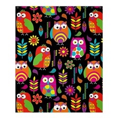 Ultra Soft Owl Shower Curtain 60  X 72  (medium)  by AnjaniArt
