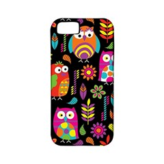 Ultra Soft Owl Apple Iphone 5 Classic Hardshell Case (pc+silicone) by AnjaniArt