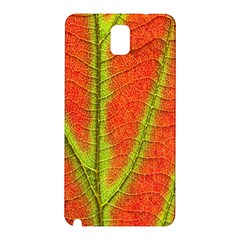 Unique Leaf Samsung Galaxy Note 3 N9005 Hardshell Back Case by AnjaniArt