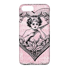 Heart Drawing Angel Vintage Apple iPhone 7 Plus Hardshell Case