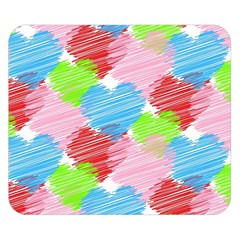 Holidays Occasions Valentine Double Sided Flano Blanket (Small)  by Zeze