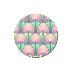 Seamless Pattern Seamless Design Magnet 3  (Round) by Zeze