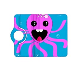 Bubble Octopus Kindle Fire Hd (2013) Flip 360 Case by AnjaniArt