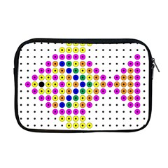 Colored Fish Apple Macbook Pro 17  Zipper Case