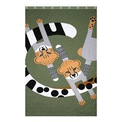 Chetah Animals Shower Curtain 48  x 72  (Small)  by AnjaniArt