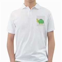 Colored Turtle Golf Shirts by AnjaniArt