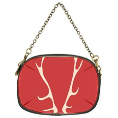 Deer Antlers Chain Purses (One Side)  by AnjaniArt