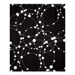 Network Shower Curtain 60  X 72  (medium)  by AnjaniArt